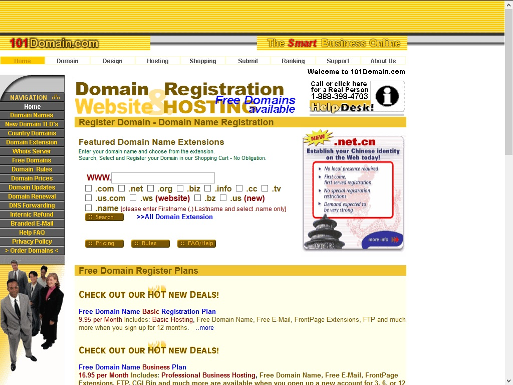 101 Domain Domain Registrars