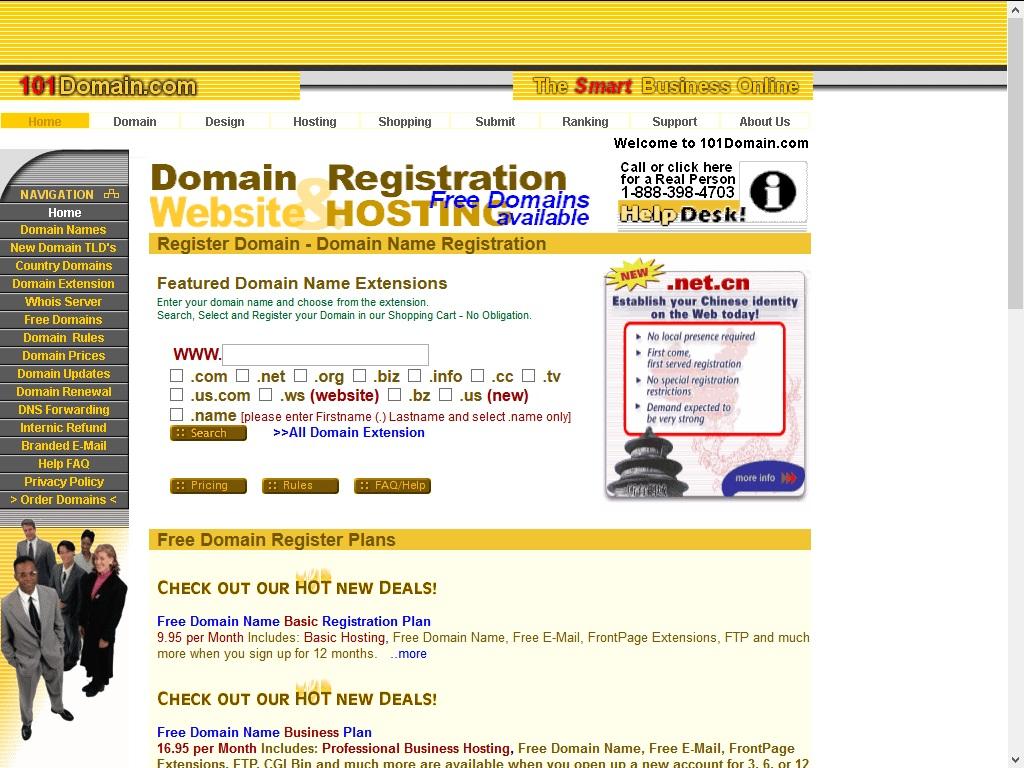 101 Domain Domain Registrars