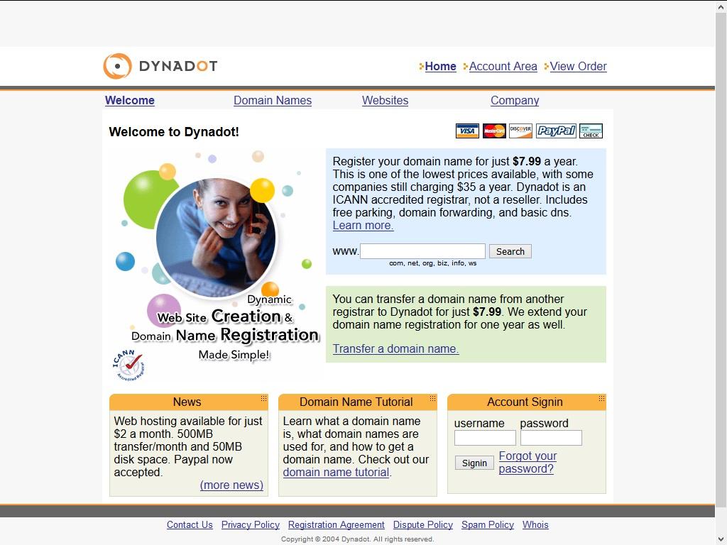 Dynadot Domain Registrar
