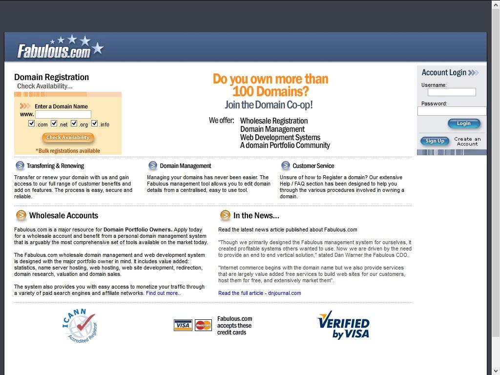Fabulous Domain Registrars