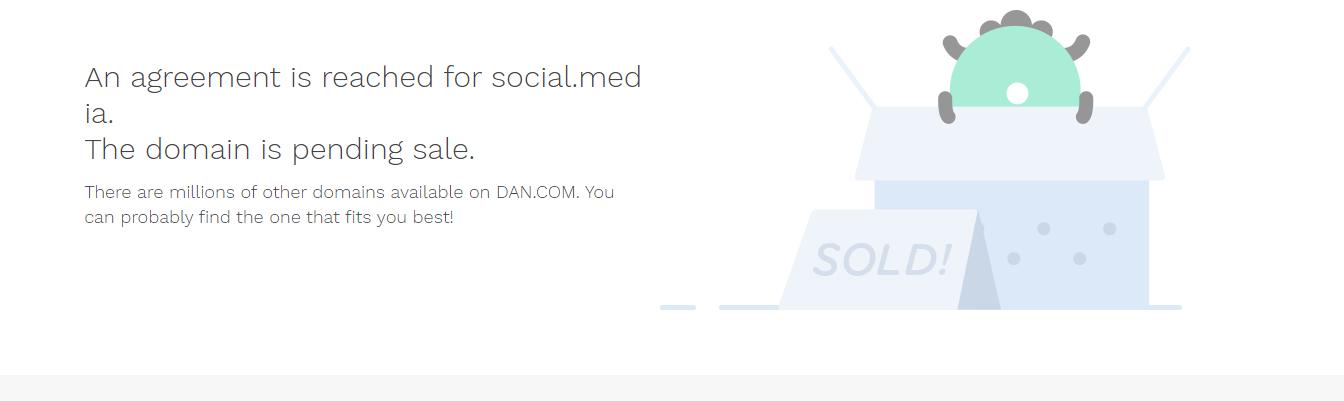 Social.Media Sold