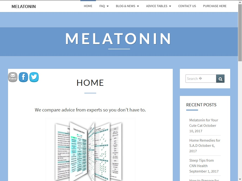 Melatonin.com 2018